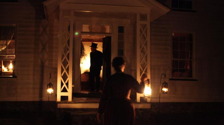 """""""Christmas by Candlelight"""" at Duke Homestead"""