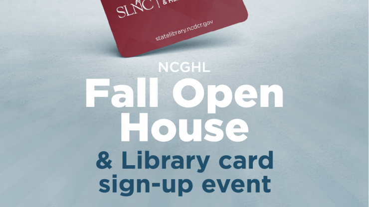 GHL Library Fall Open House