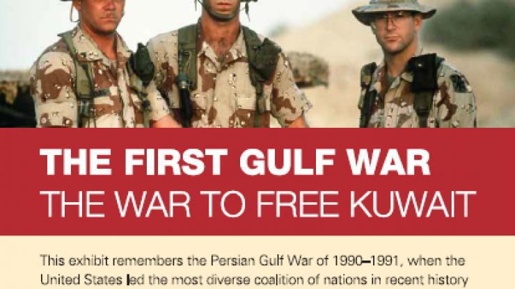Gulf War exhibit