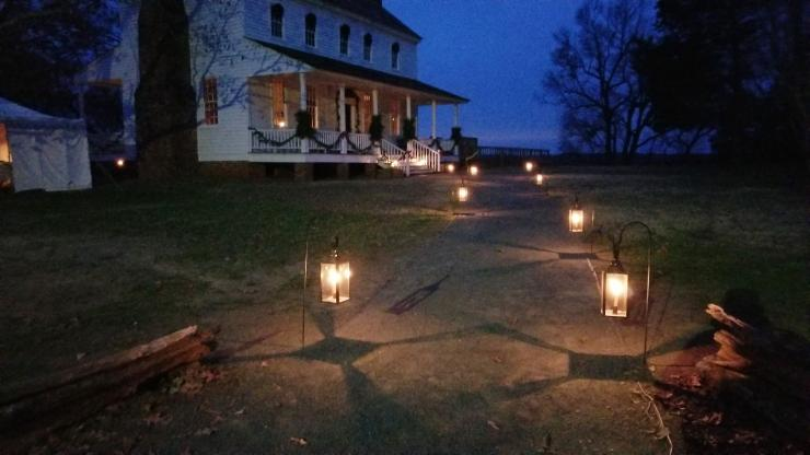 The Alston House will be decorated for Christmas and opened to the public Saturday, Dec. 7.
