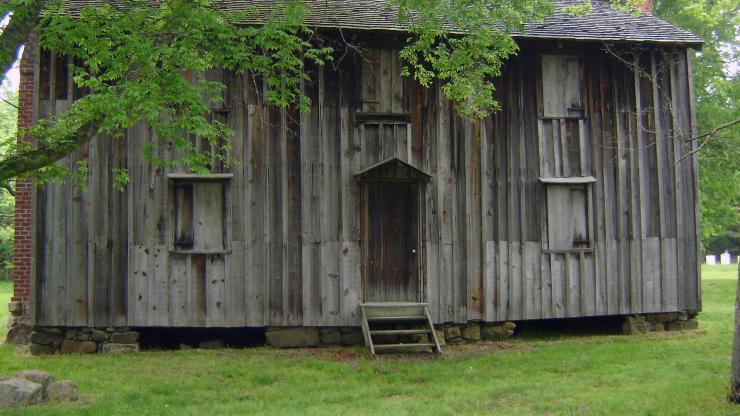 Slave quarters at Historic Stagville