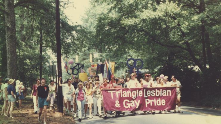 triangle pride march 1986