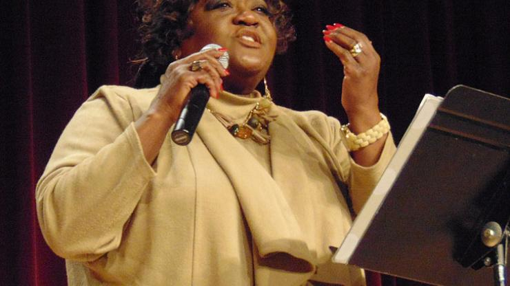 Gospel singer Mary D. Williams is keynote speaker for the N.C. Literary and Historical Association meeting