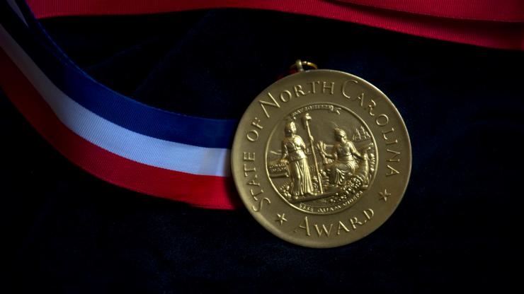 NC Awards medal