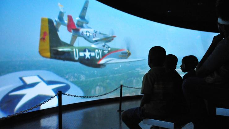 "The N.C. Transportation Museum offers the ""Rise Above: Tribute to Tuskegee Airmen"" exhibit in February."