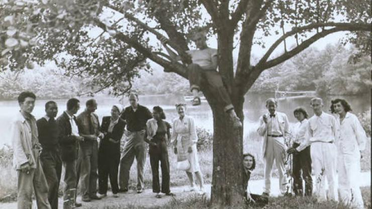Summer Arts Institute Faculty Black Mountain College 1946