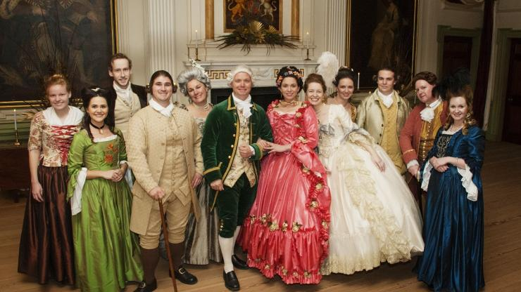 Wrap up the Carolina Christmas Tour with a party at Tryon Palace