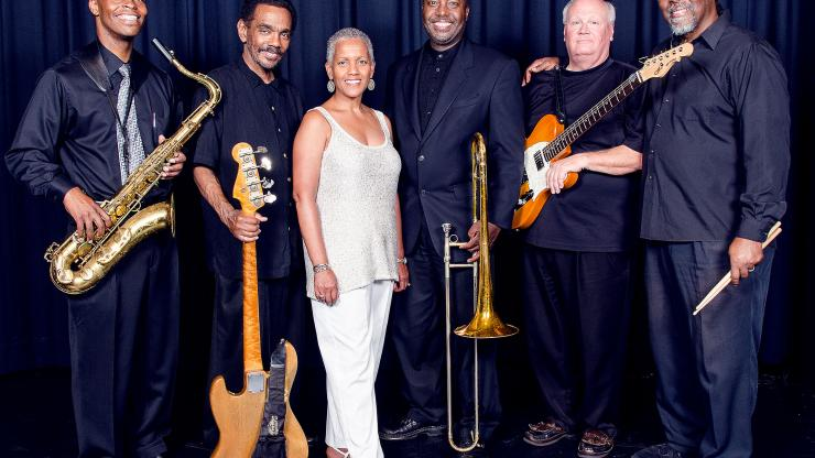 Tyron Jefferson and his jazz band. Image courtesy of Ron Ross.
