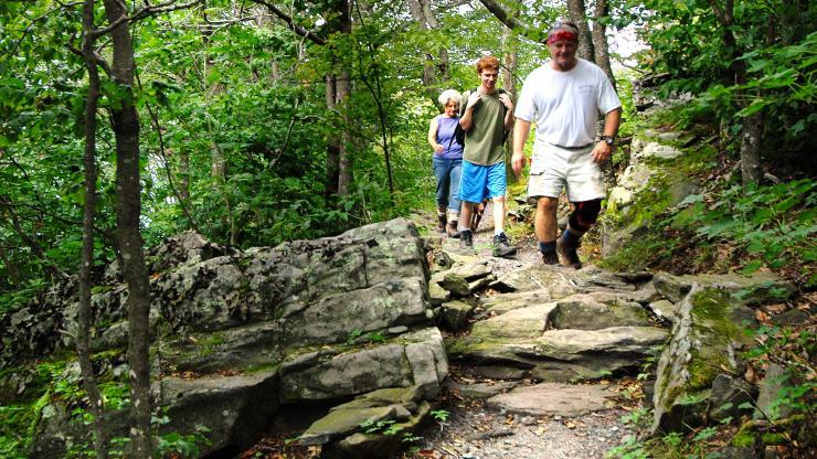Mountain Trail Hike