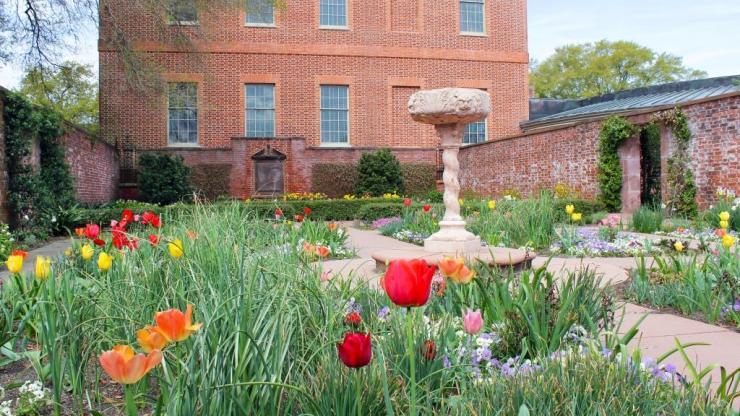 The Kellenberger Garden at Tryon Palace