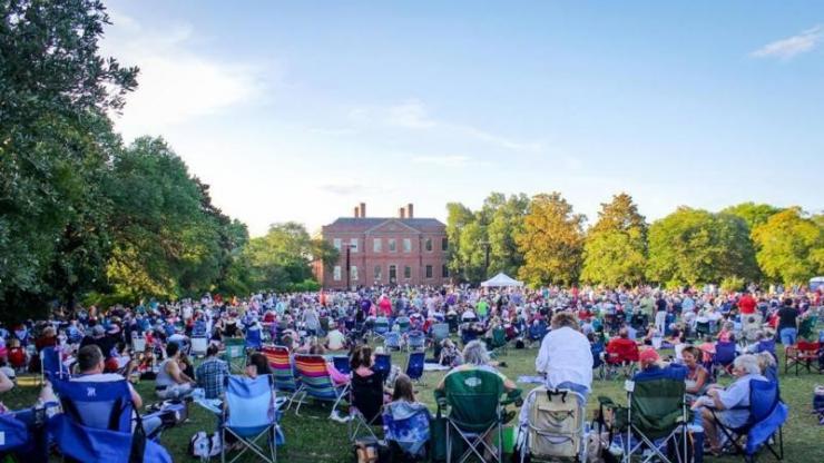 North Carolina Symphony performs at Tryon Palace