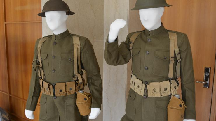 WWI uniforms and other artifacts are being sought by Reed Gold Mine