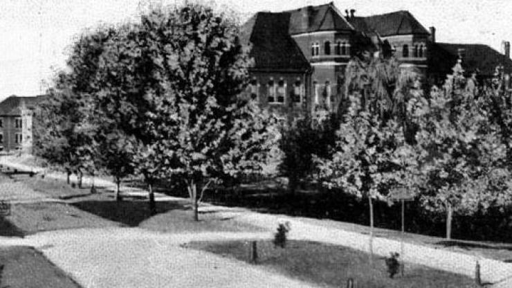 Postcard from a student at the State Normal and Industrial College (now the University of North Carolina at Greensboro), Sept. 24, 1906