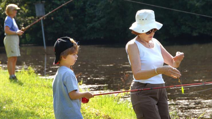 National Grandparents Day, North Carolina State Parks