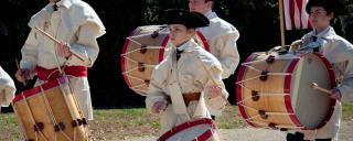 The Tryon Palace Fife and Drum Corps