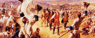 French and Indian War Battle