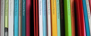 North Carolina Historical Review on Shelves