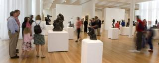 The Rodin Court at the N.C. Museum of Art in Raleigh