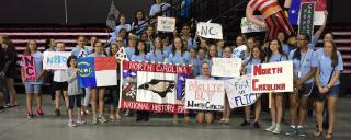 North Carolina student participants at the 2014 National History Day competition
