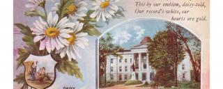 Old Post Card from the North Carolina State Capitol
