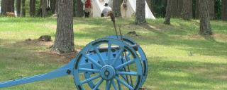 Cannon at Alamance Battleground