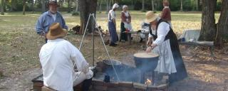 Candle Making at Brunswick Town/Fort Anderson in Winnabow