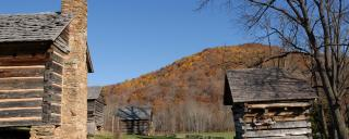 Vance Birthplace in Fall