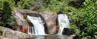Gorges State Park Waterfall