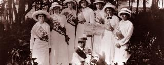 orth Carolina suffragettes