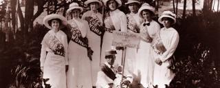orth Carolina suffragettes