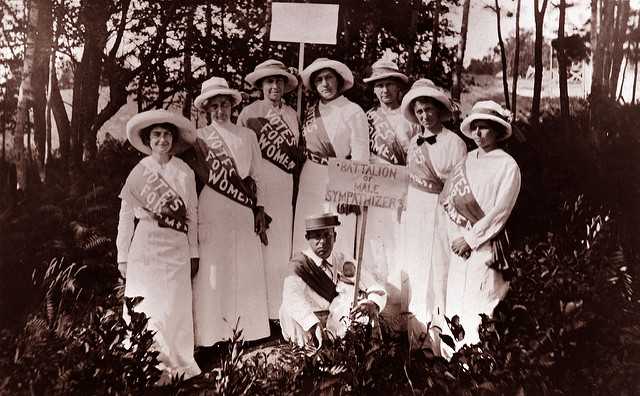 Suffragists from the 1920s