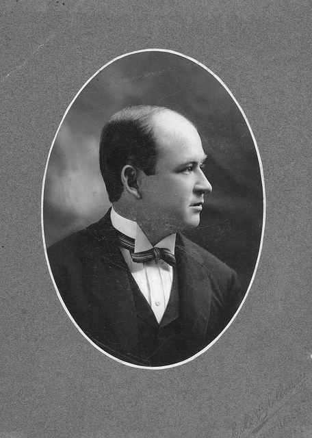 John Spencer Bassett. Image from the Duke University Archives.