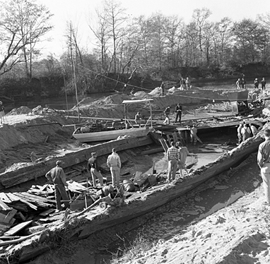 Salvage of the CSS Neuse from the Muck