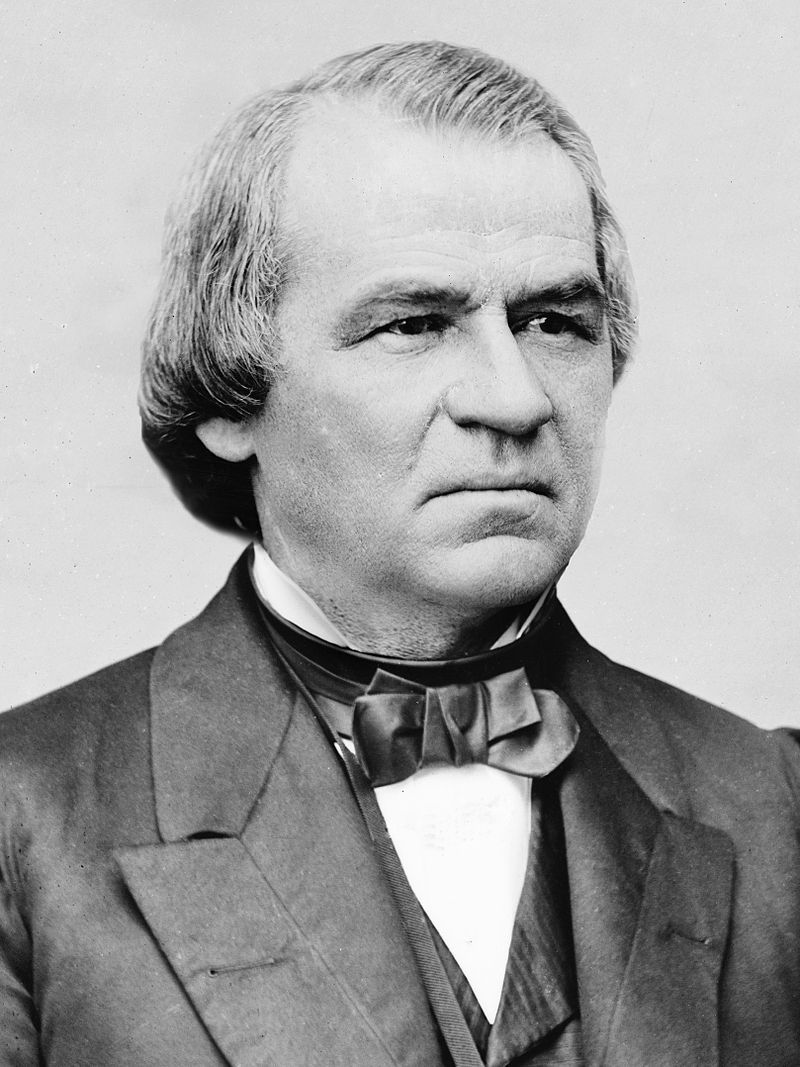 Andrew Johnson. Image from the Library of Congress.