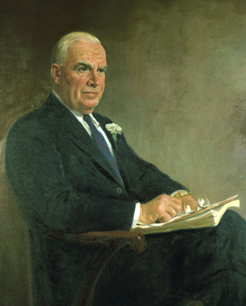 Governor Luther Hodges. Image from the State Archives.