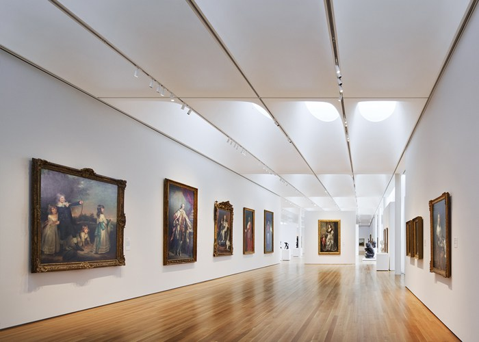 The West Building at the N.C. Museum of Art. Image from the N.C. Museum of Art.