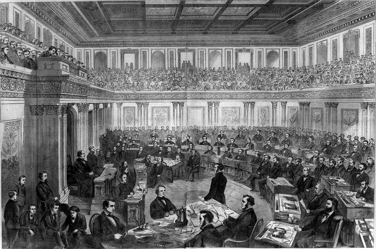 Johnson's impeachment trial