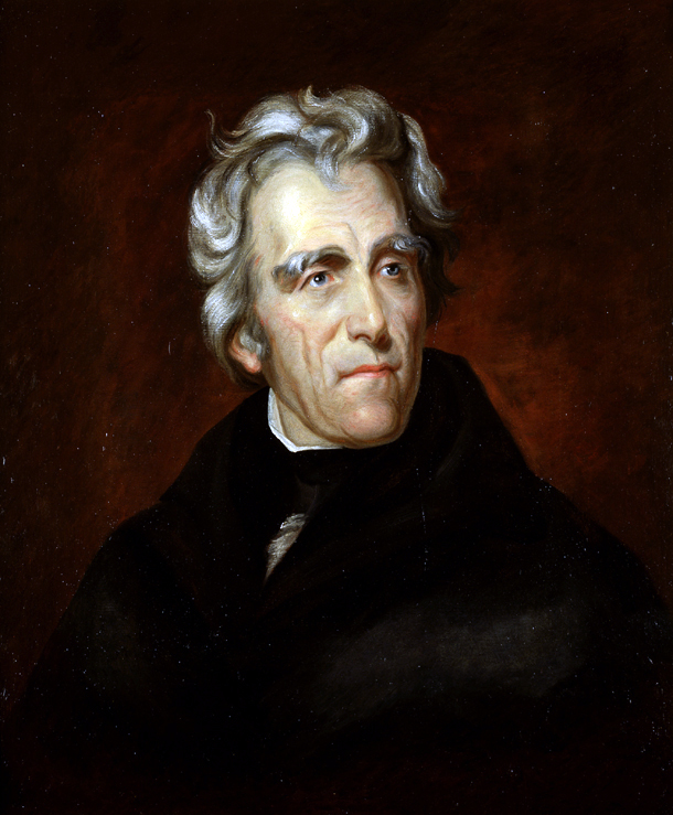 Andrew Jackson. Image from the U.S. Senate.