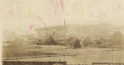A paper plant in Canton in 1922