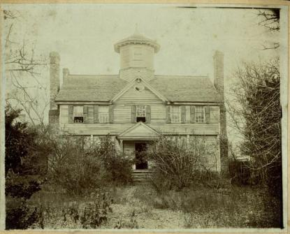 A circa 1900-1920 image of the Cupola House from the N.C. Museum of History