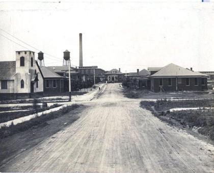 Erlanger Mills in 1918.