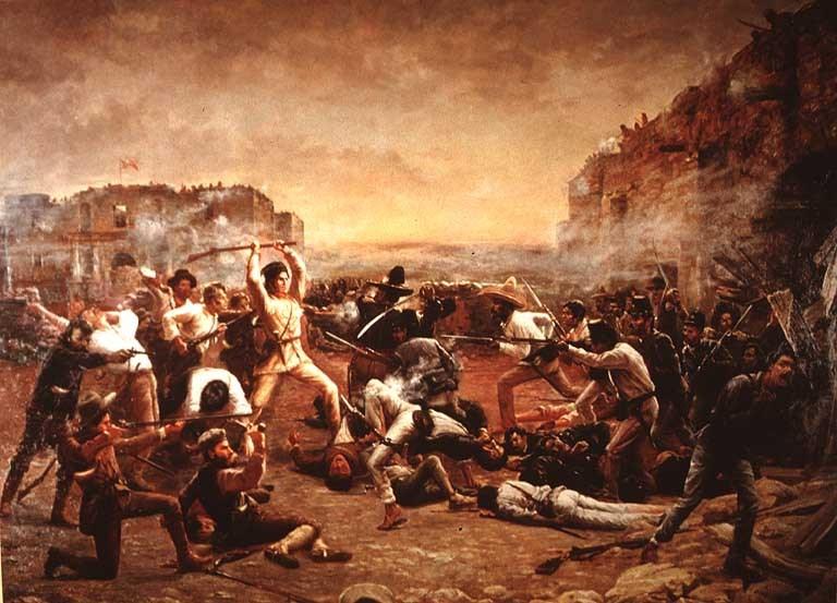 The Fall of the Alamo by Robert Jenkins Onderdonk.