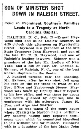 New York Times Article 1903