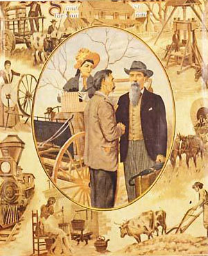 An image of L. L. Polk in a 1926 issue of The Progressive Farmer. Image from the N.C. Museum of History