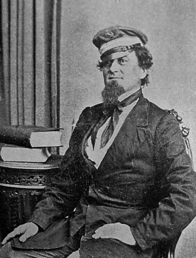 Maffitt in 1863. Image from the N.C. Museum of History.