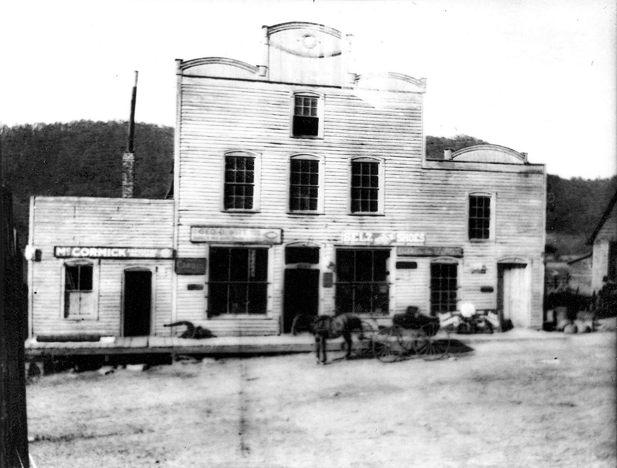 The original Mast General Store. Image from the Mast General Store.