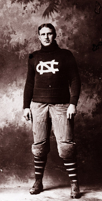 O. Max Gardner when he was a football player at UNC-Chapel Hill.