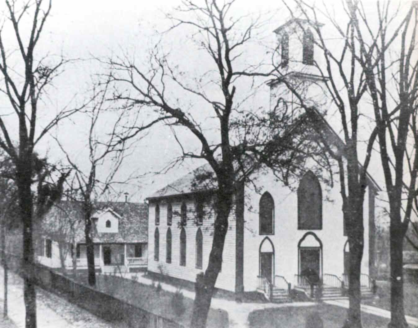 St. Patrick's Church in an unknown year.