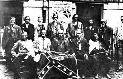 Members of Thomas's Legion. Image from the State Archives.