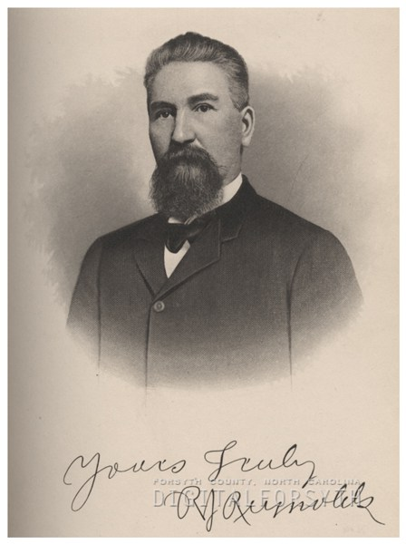 R. J. Reynolds. Image from the Forsyth County Public Library.